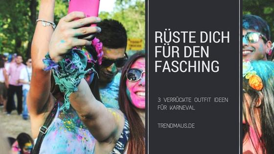 3 verr ckte outfit ideen f r karneval der blog - Ideen karneval ...